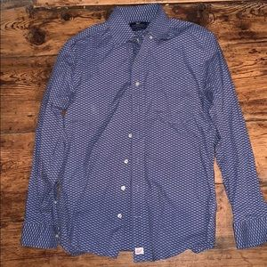 Men's fish print Vineyard Vines button down